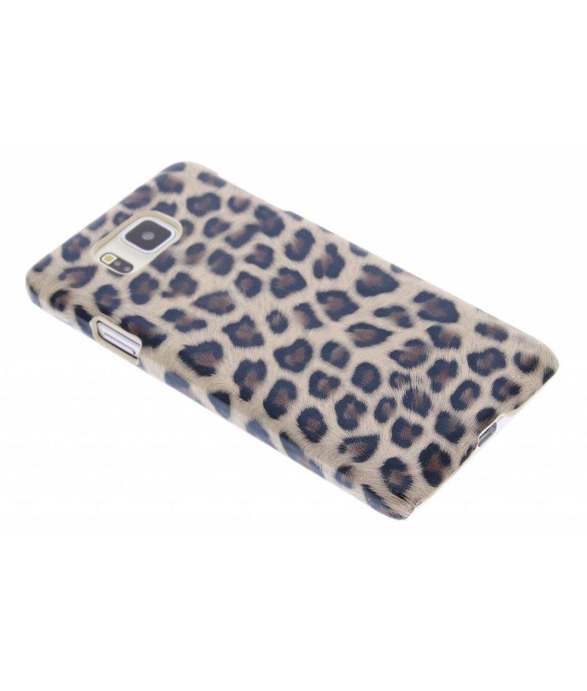 Bruin luipaard hardcase Samsung Galaxy Alpha