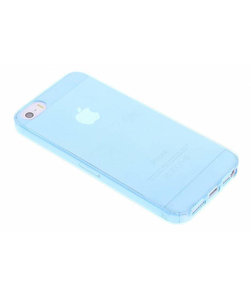 Ultra thin transparant TPU hoesje iPhone 5 / 5s / SE