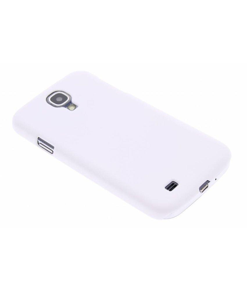 Wit effen hardcase Samsung Galaxy S4