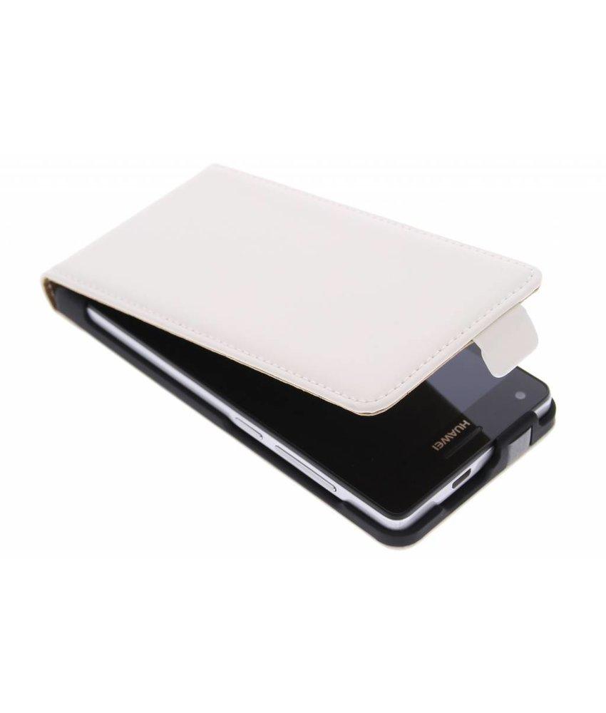 Mobiparts Premium flipcase Huawei Ascend G6 4G - White