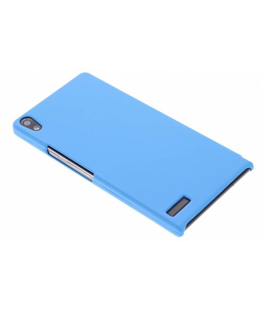 Turquoise effen hardcase hoesje Huawei Ascend P6 / P6s