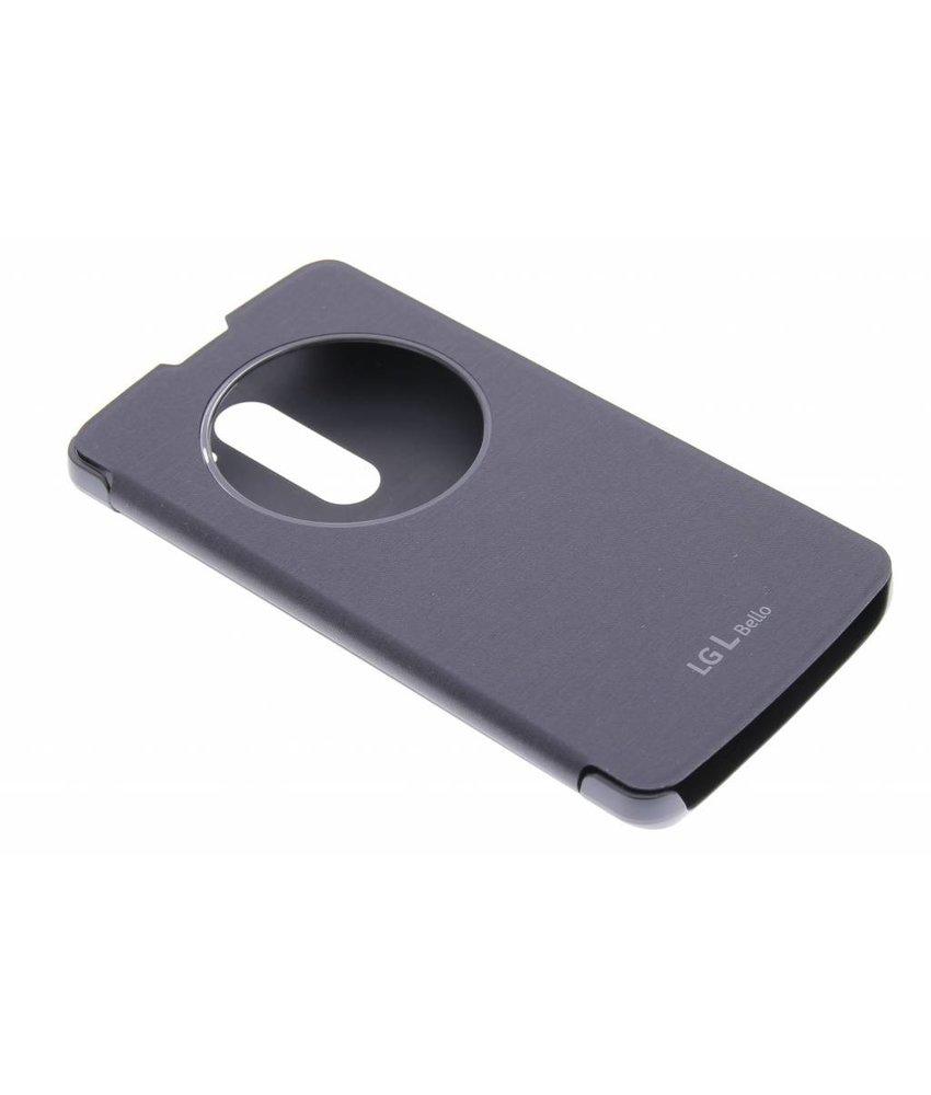 LG Quick Cirlce Case LG L Bello / L80 Plus - zwart