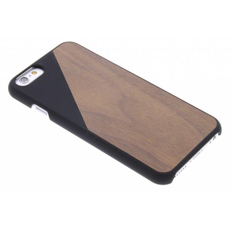 Geometrisch bamboe hardcase iPhone 6 / 6s
