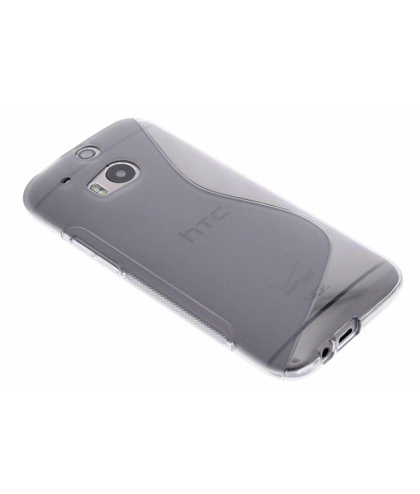 Grijs S-line TPU hoesje HTC One M8 / M8s