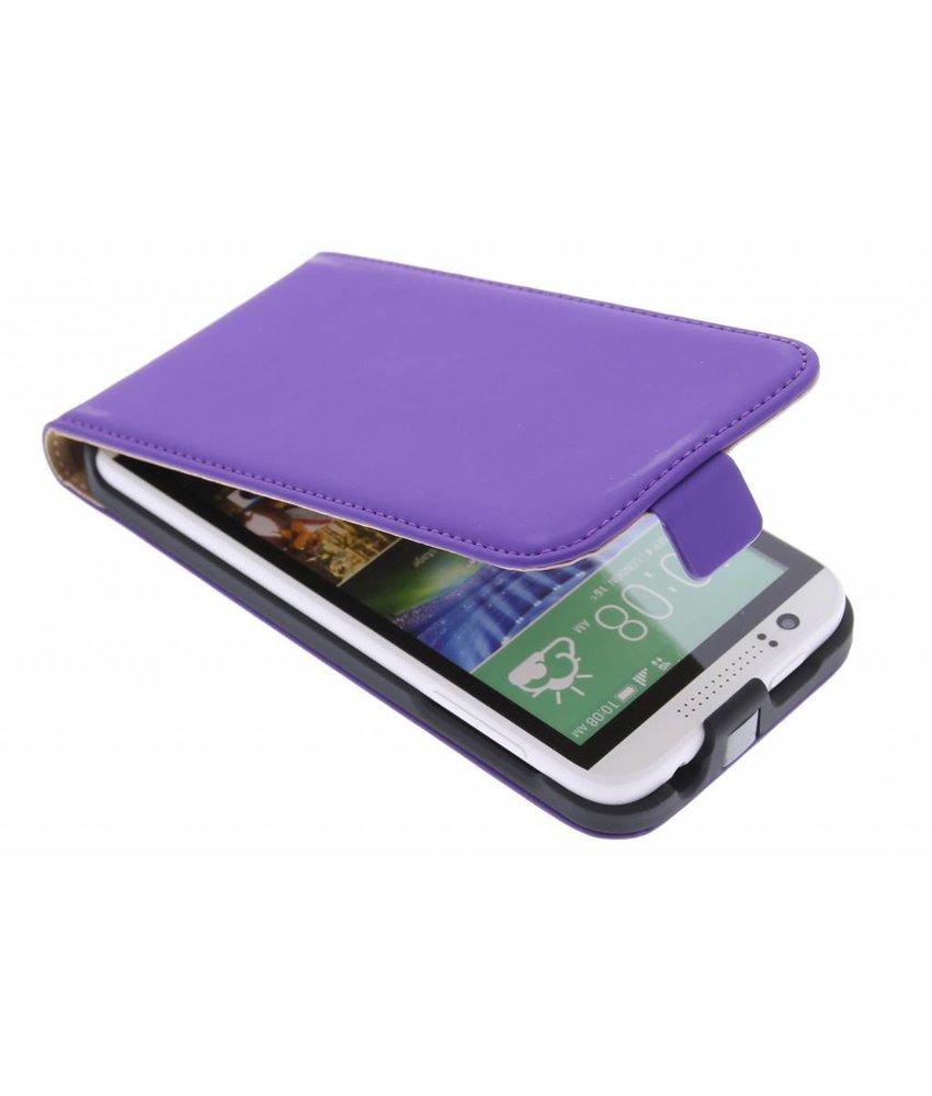 Mobiparts Premium flipcase HTC Desire 510 - Purple