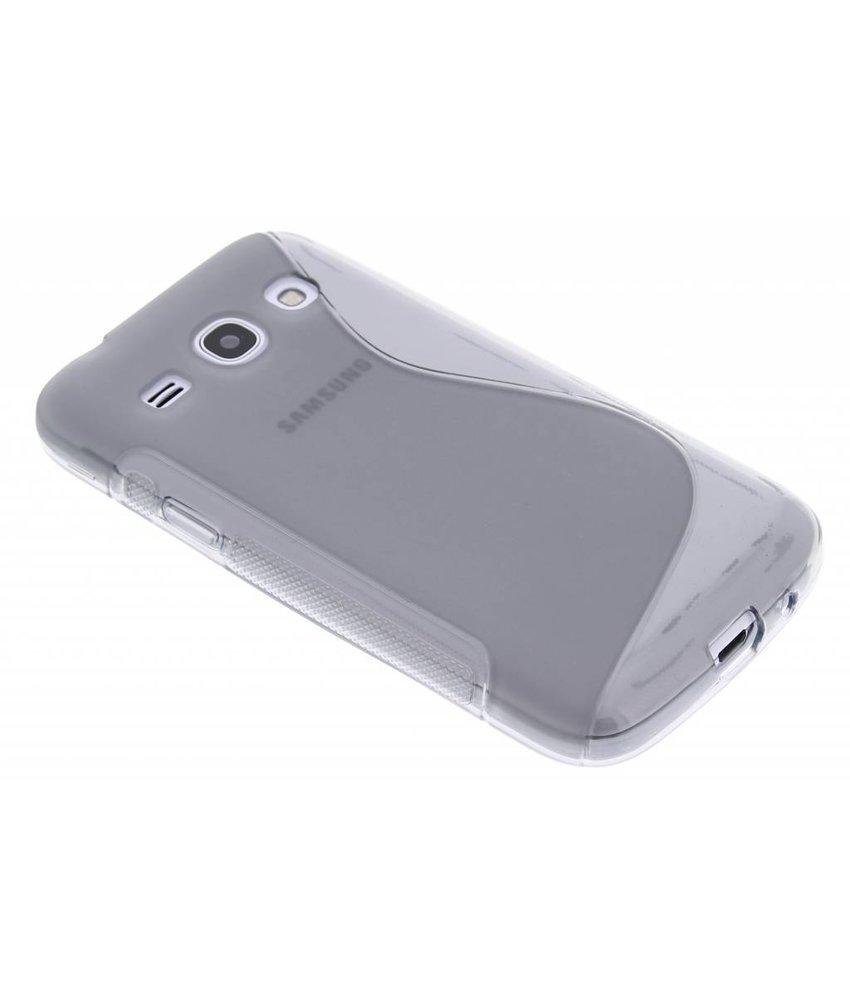 Grijs S-line TPU hoesje Samsung Galaxy Core Plus