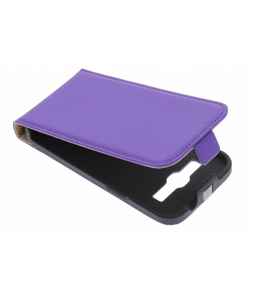 Mobiparts Premium flipcase Galaxy Core Plus - Purple