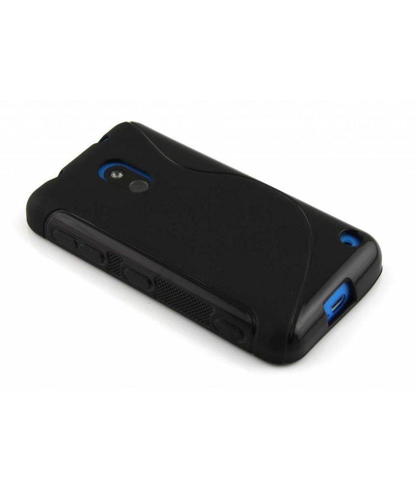 Zwart S-line TPU hoesje Nokia Lumia 620