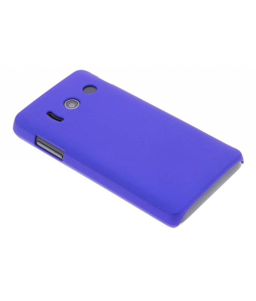 Blauw effen hardcase hoesje Huawei Ascend Y300
