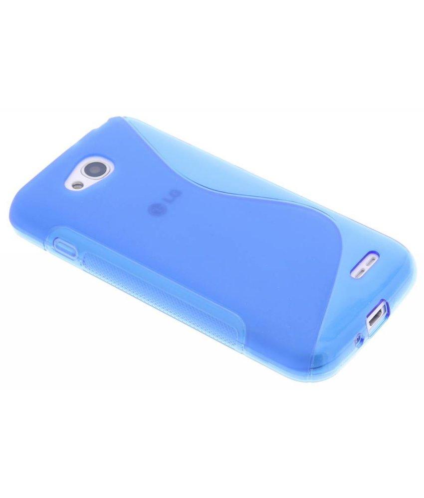 Blauw S-line TPU hoesje LG L90
