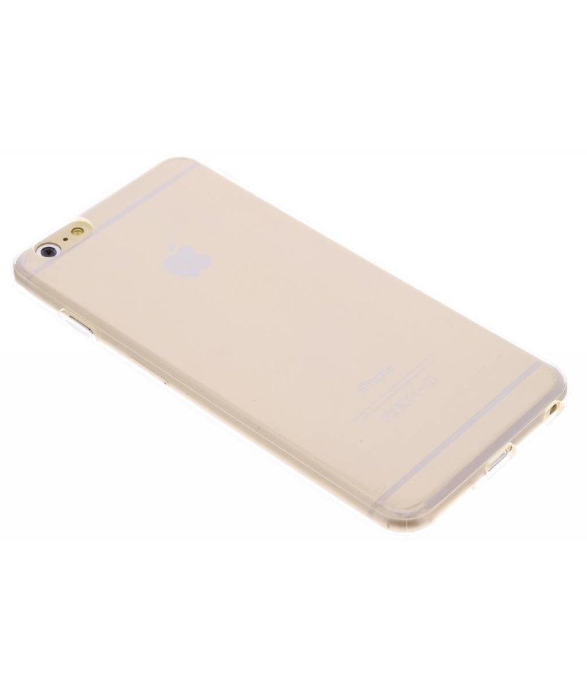 Transparant TPU siliconen hoesje iPhone 6(s) Plus