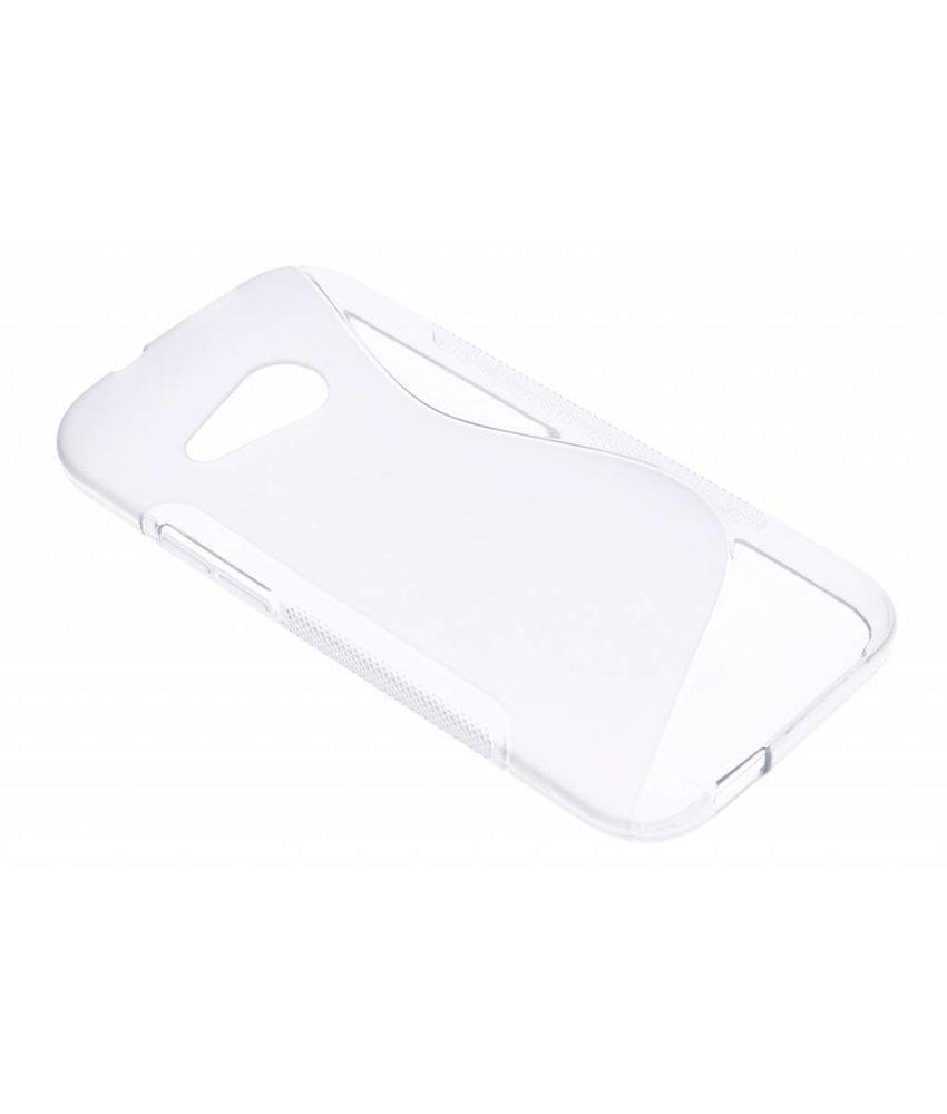 Transparant S-line TPU hoesje HTC One Mini 2