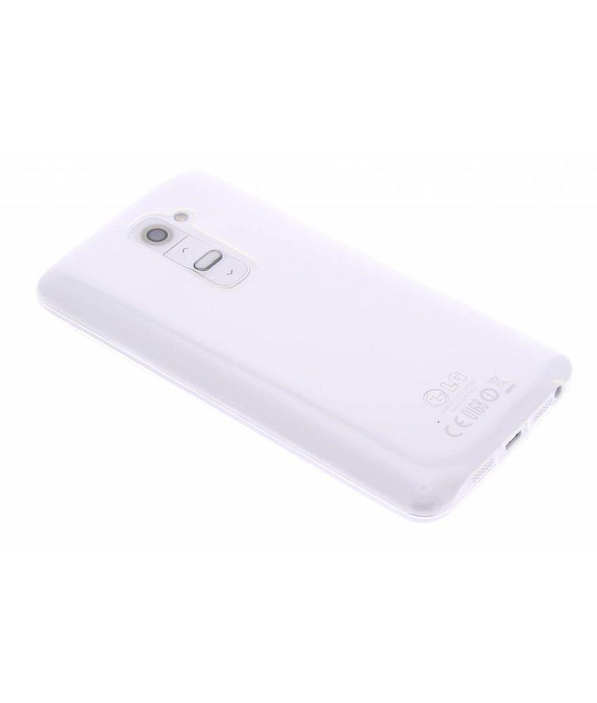 Ultra thin transparant TPU hoesje LG G2