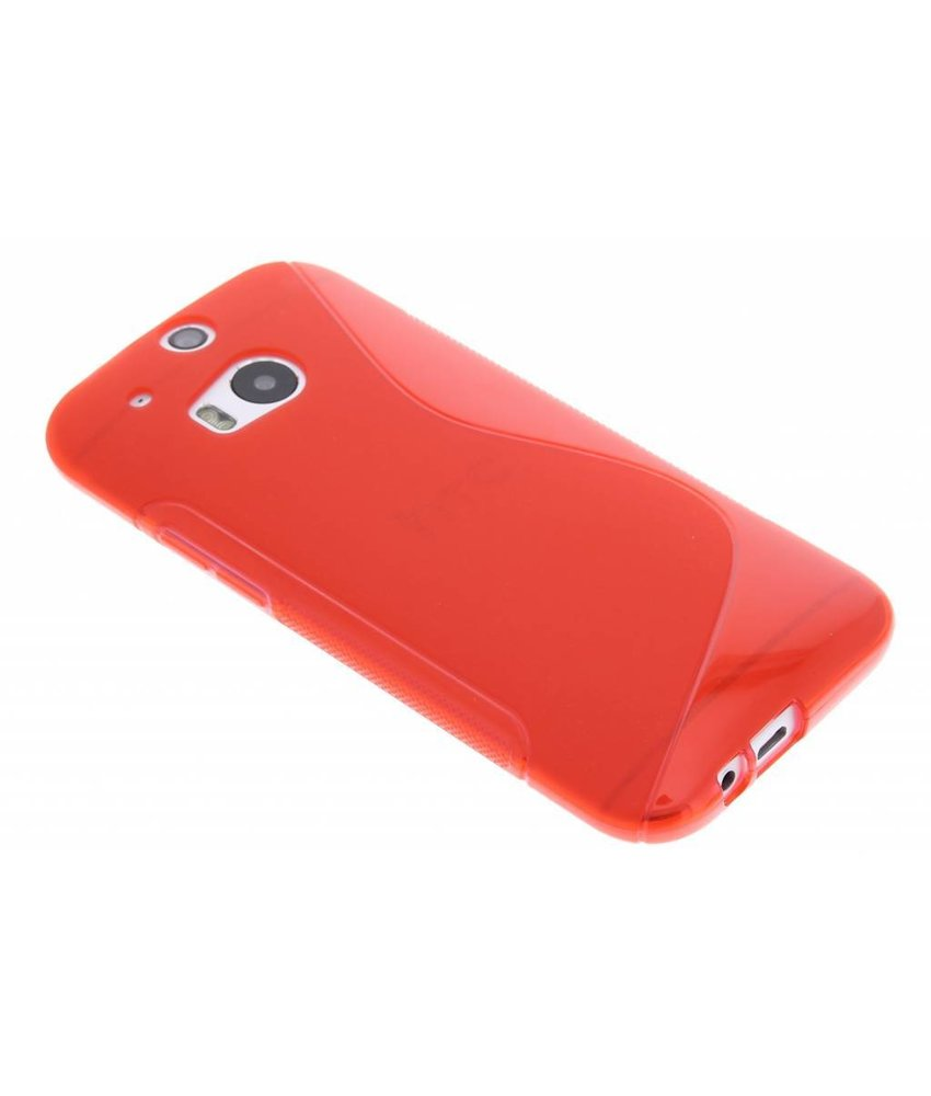 Rood S-line TPU hoesje HTC One M8 / M8s