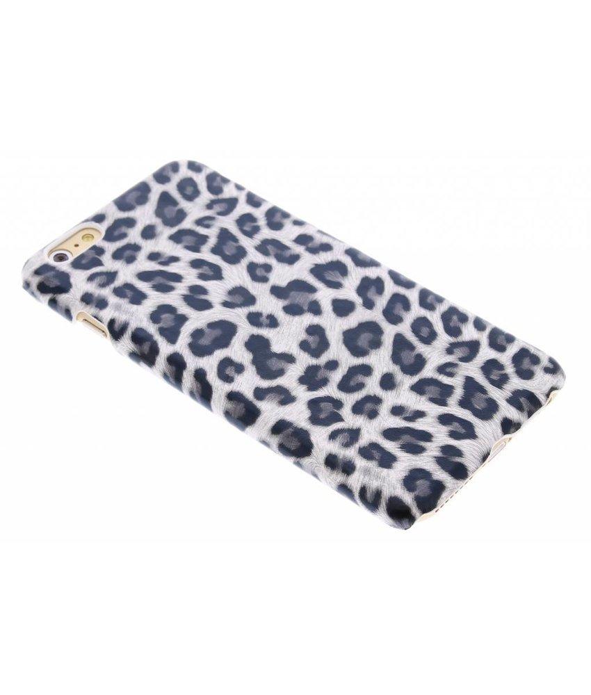 Grijs luipaard hardcase hoesje iPhone 6(s) Plus