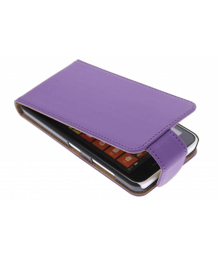 Paars classic flipcase Nokia Lumia 630 / 635