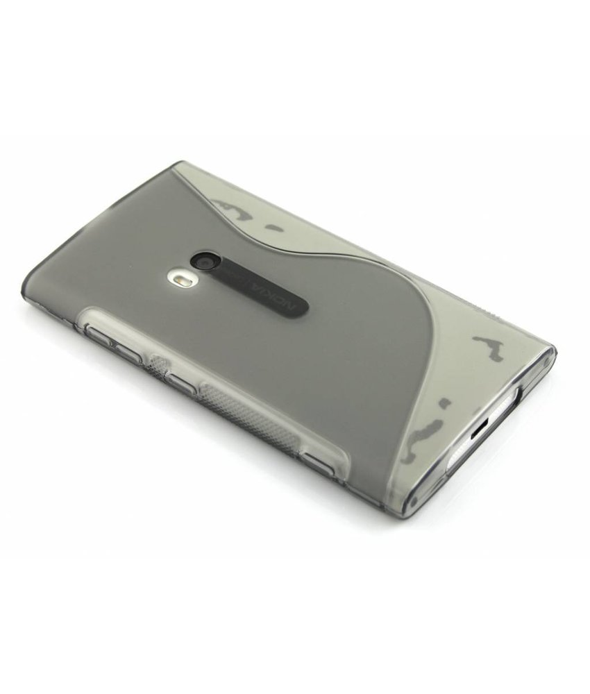 Grijs S-line TPU hoesje Lumia 920