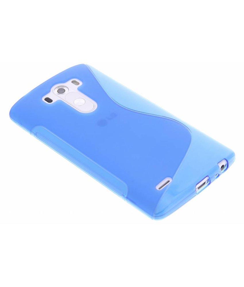 Blauw S-line TPU hoesje LG G3