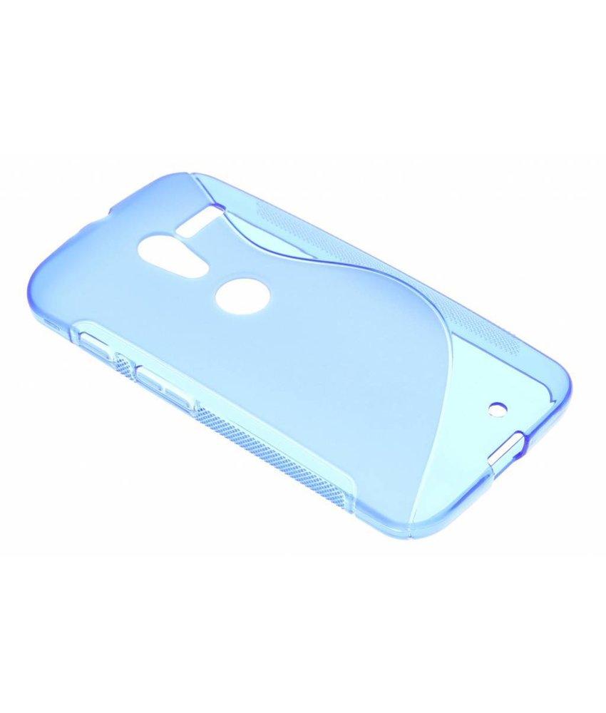 Blauw S-line S-line TPU hoesje Motorola Moto X