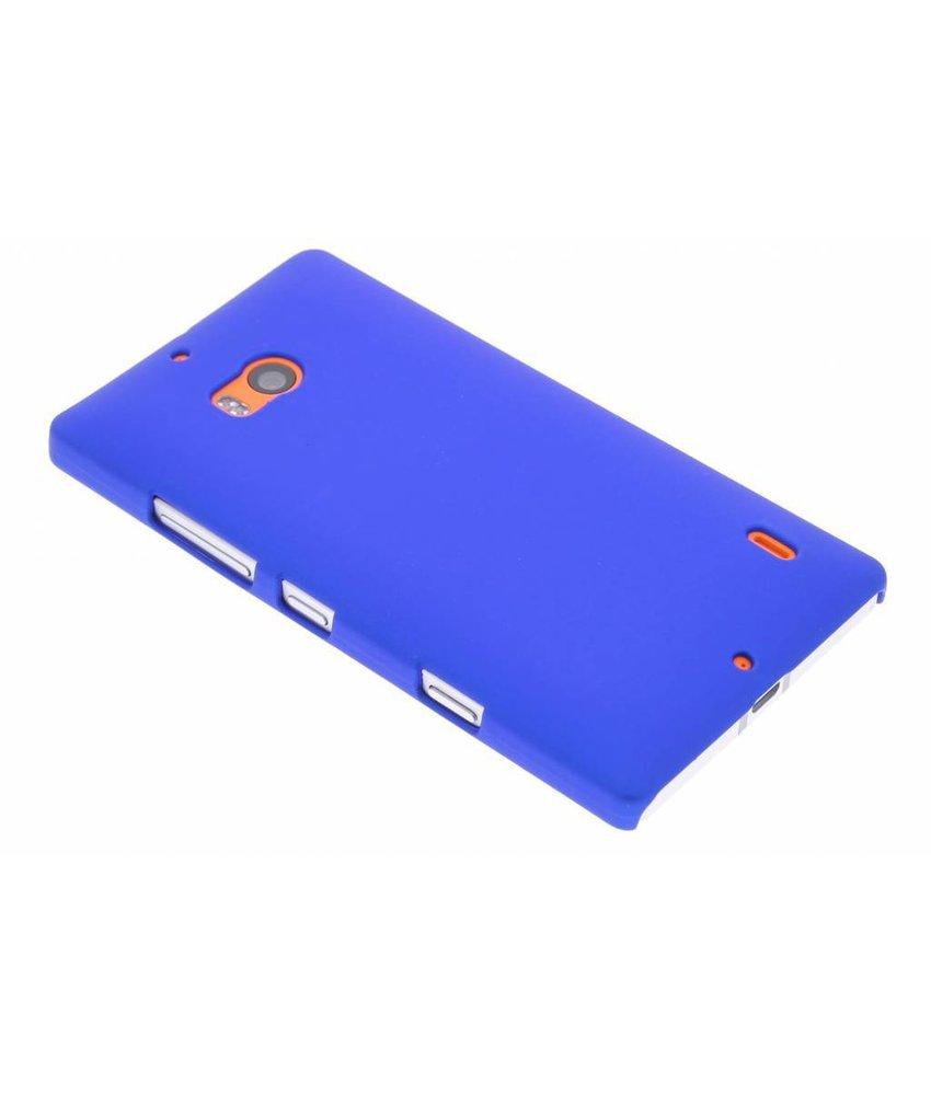 Blauw effen hardcase hoesje Nokia Lumia 930