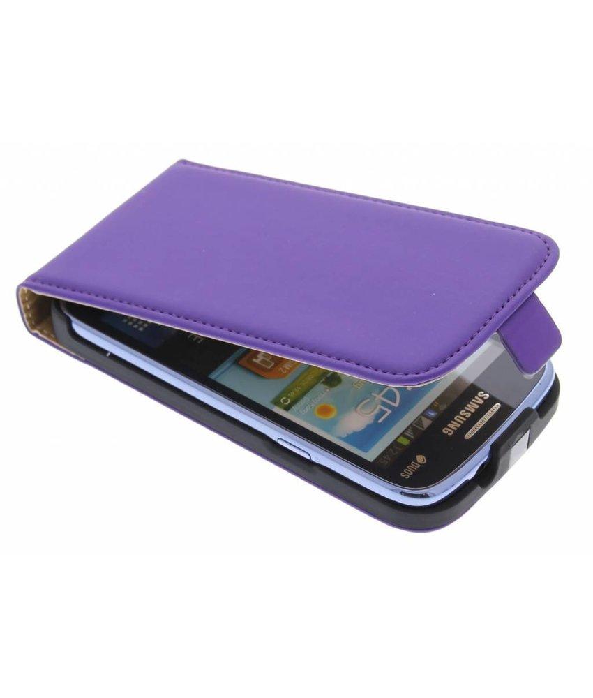 Mobiparts Premium Flipcase Samsung Galaxy Core - Purple