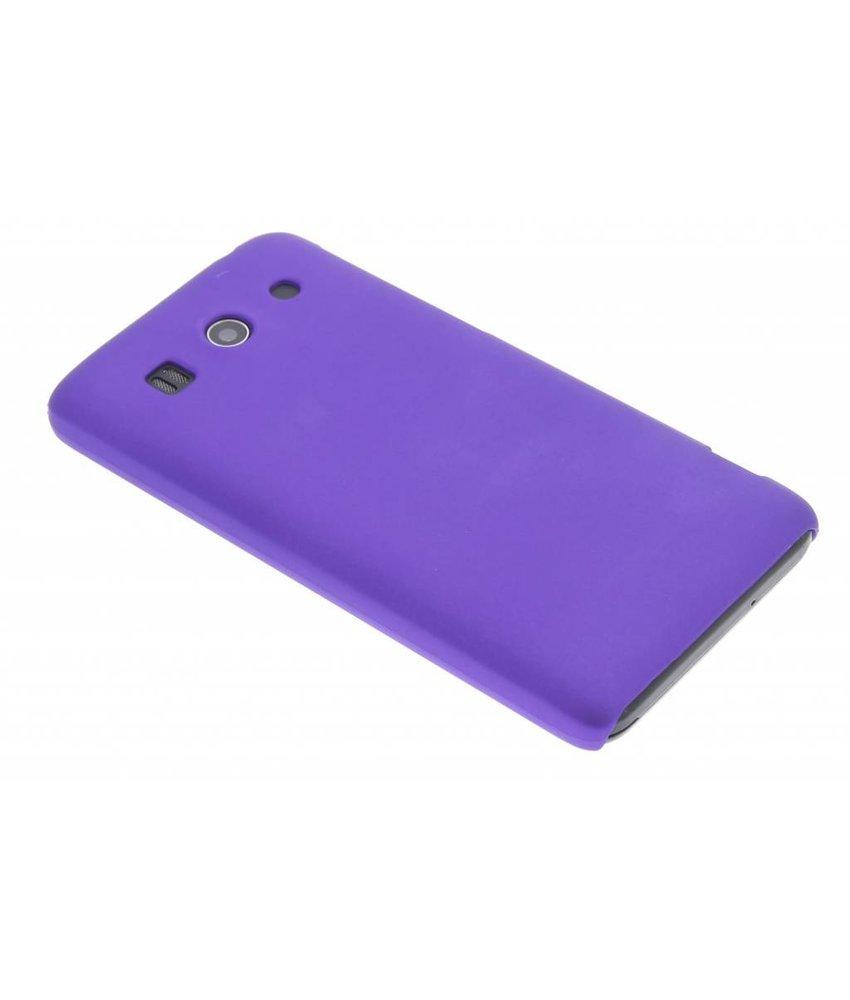 Paars effen hardcase hoesje Huawei Ascend G525