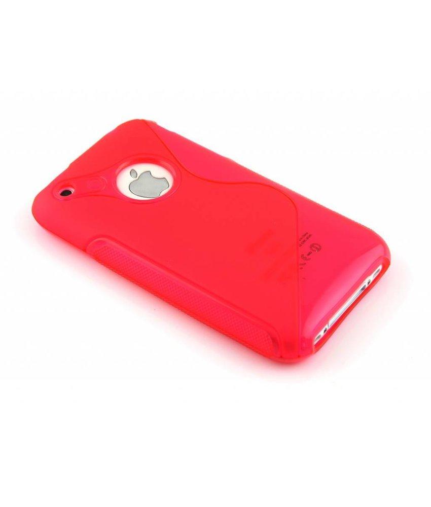 Rosé S-line TPU hoesje iPhone 3gs