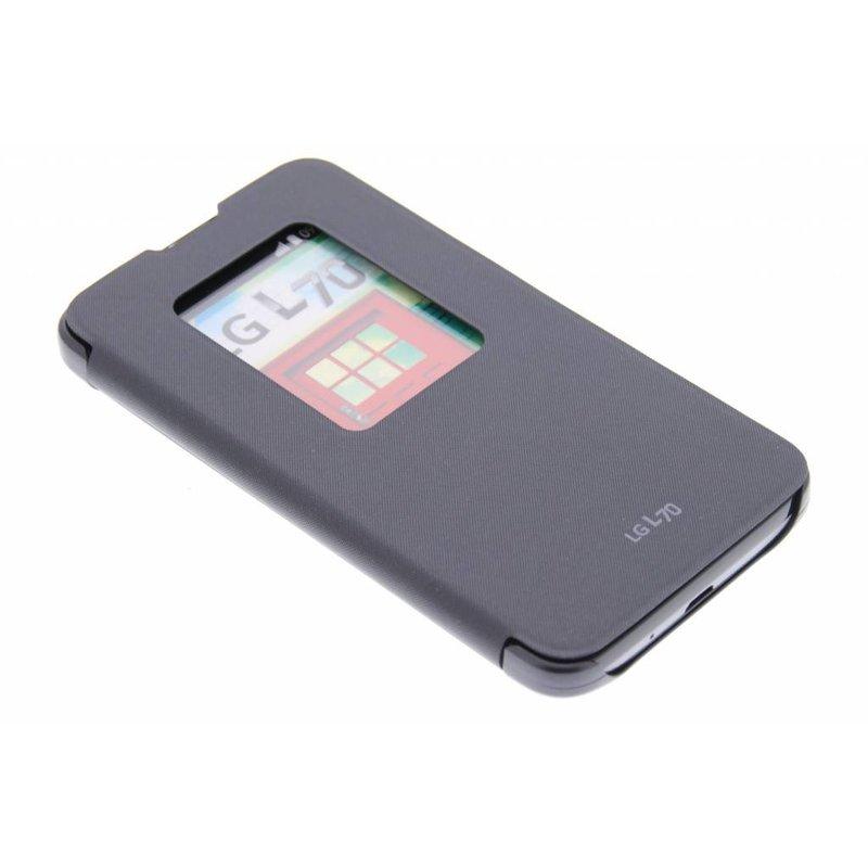 LG QuickWindow Case LG L70 - Zwart