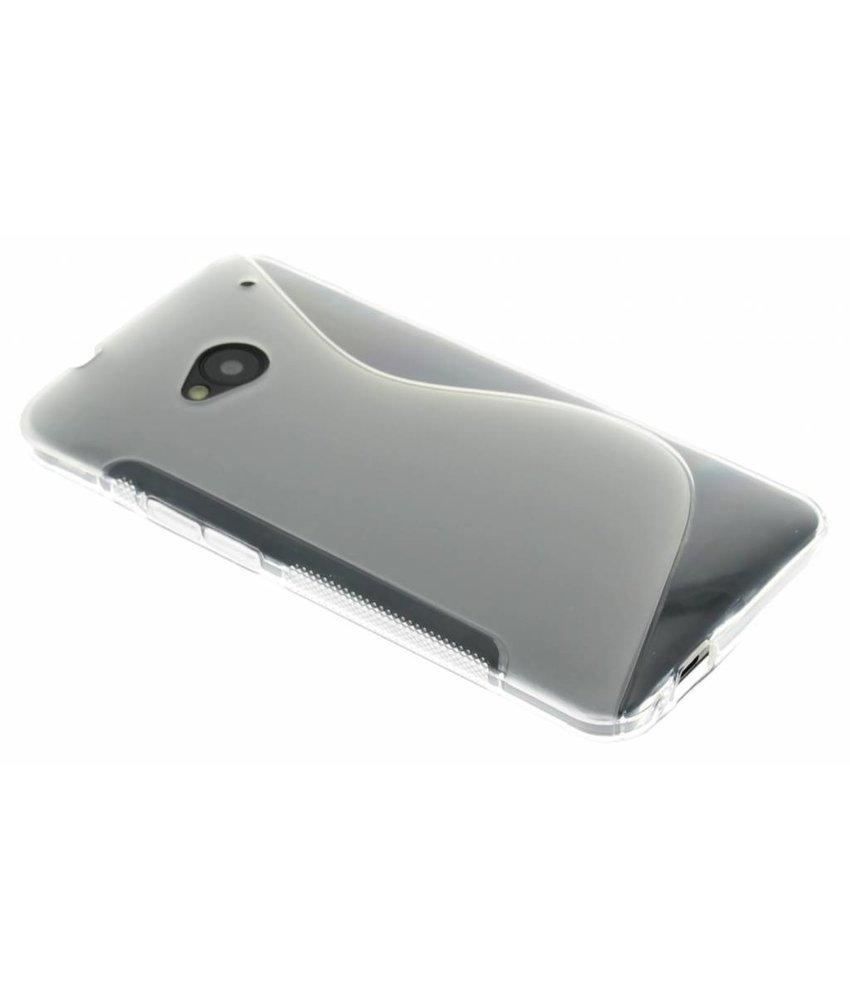 Transparant S-line TPU hoesje HTC One