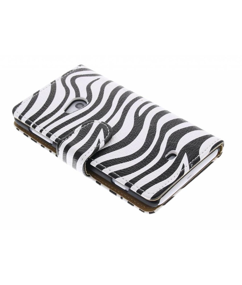 Zebra booktype hoes Nokia Lumia 625