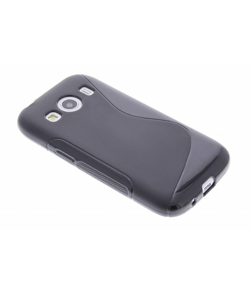 Zwart S-line TPU hoesje Samsung Galaxy Ace 4