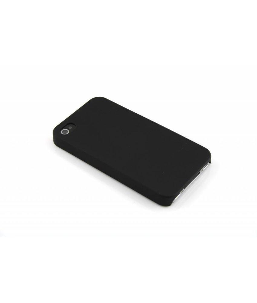 Zwart effen hardcase iPhone 4 / 4s