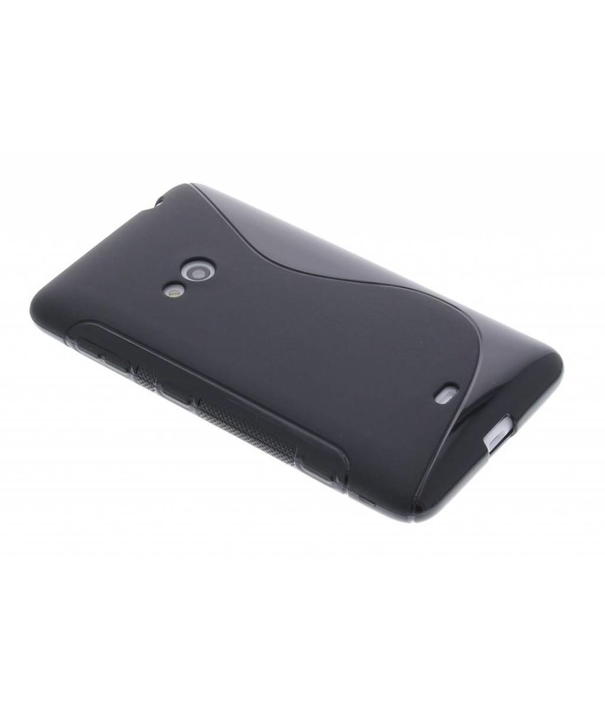 Zwart S-Line TPU hoesje Nokia Lumia 625