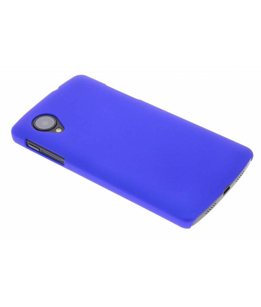 Blauw effen hardcase hoesje LG Nexus 5
