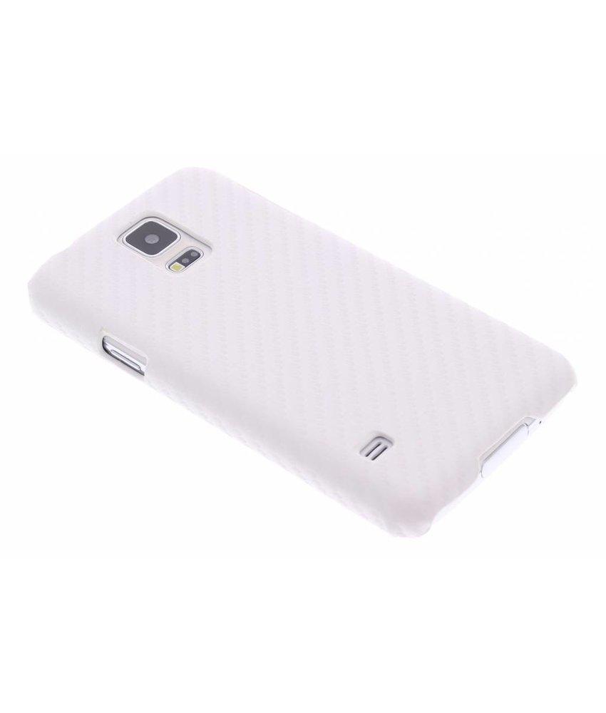 Carbon look hardcase Samsung Galaxy S5 (Plus) / Neo