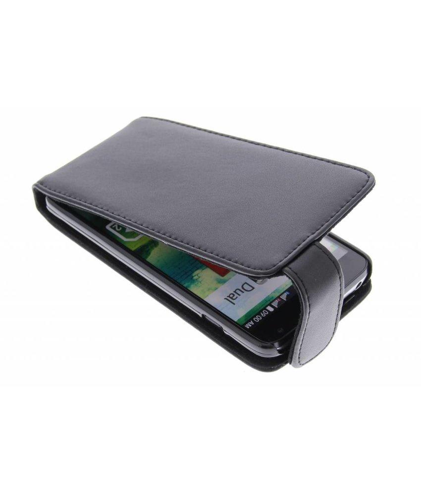 Zwart stijlvolle flipcase LG L90