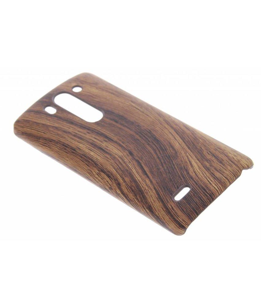 Hout design hardcase hoesje LG G3 S