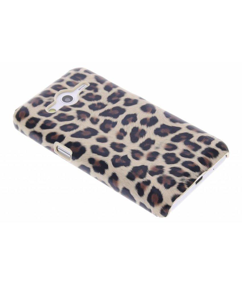 Bruin luipaard hardcase Samsung Galaxy Core 2