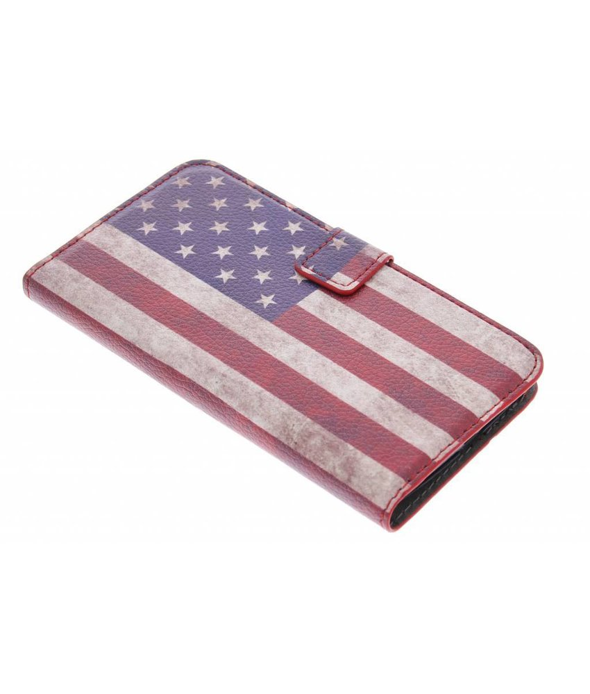 Vintage vlag booktype hoes LG Nexus 5