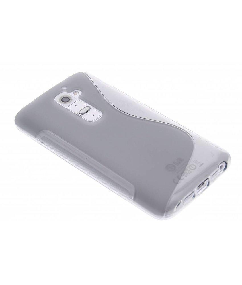 Grijs S-line TPU hoesje LG G2
