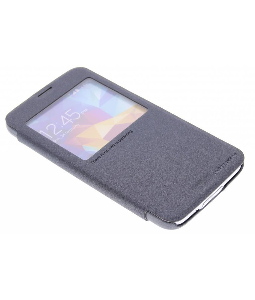 Nillkin Sparkle booktype Samsung Galaxy S5 (Plus) / Neo - Zwart