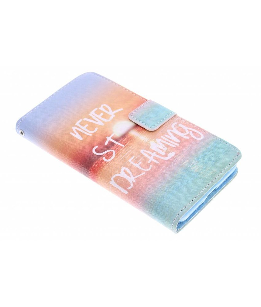 Design TPU booktype hoes Samsung Galaxy Grand Prime