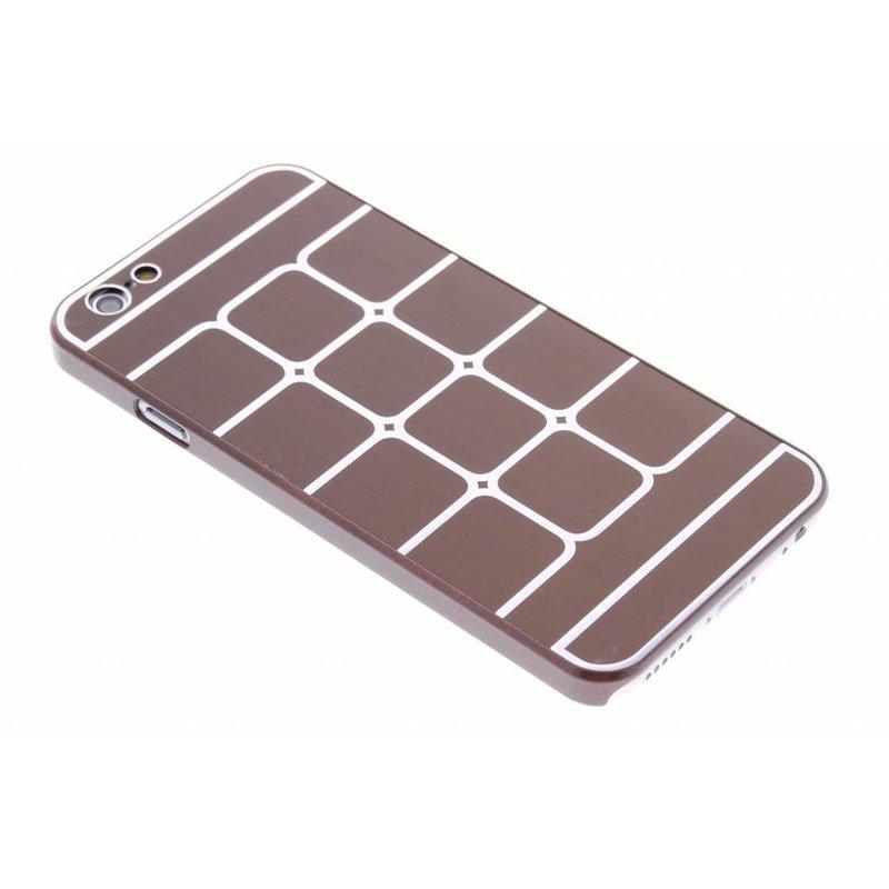 Luxe brushed aluminium hardcase iPhone 6 / 6s