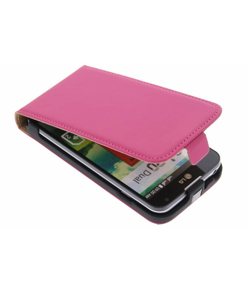 Mobiparts Premium flipcase LG L90 - Pink