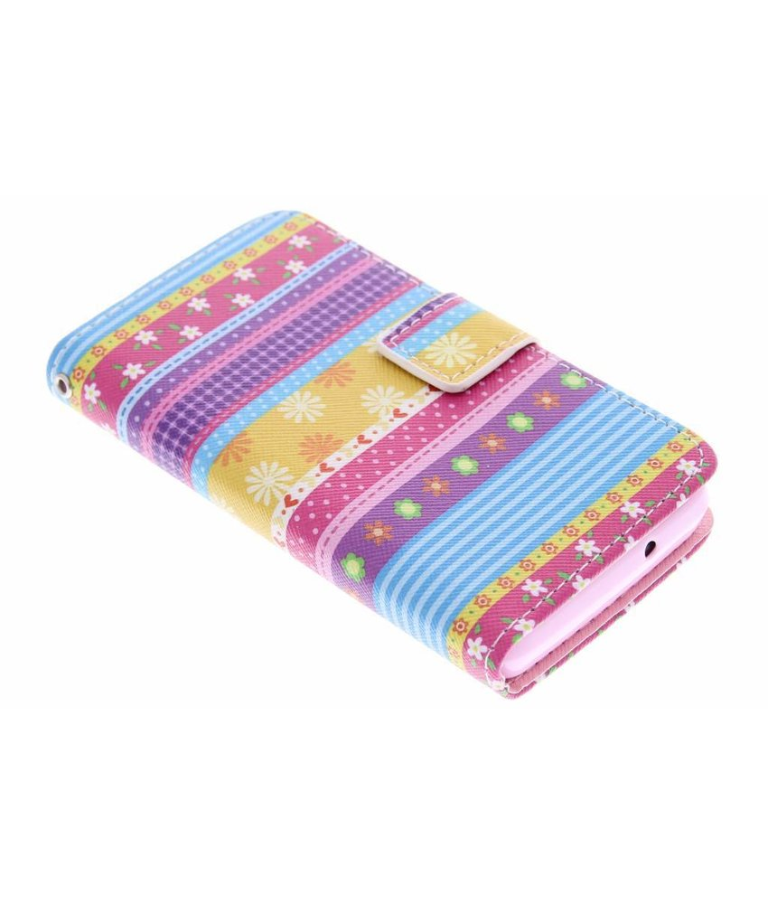 Design TPU booktype hoes Huawei Ascend Y300