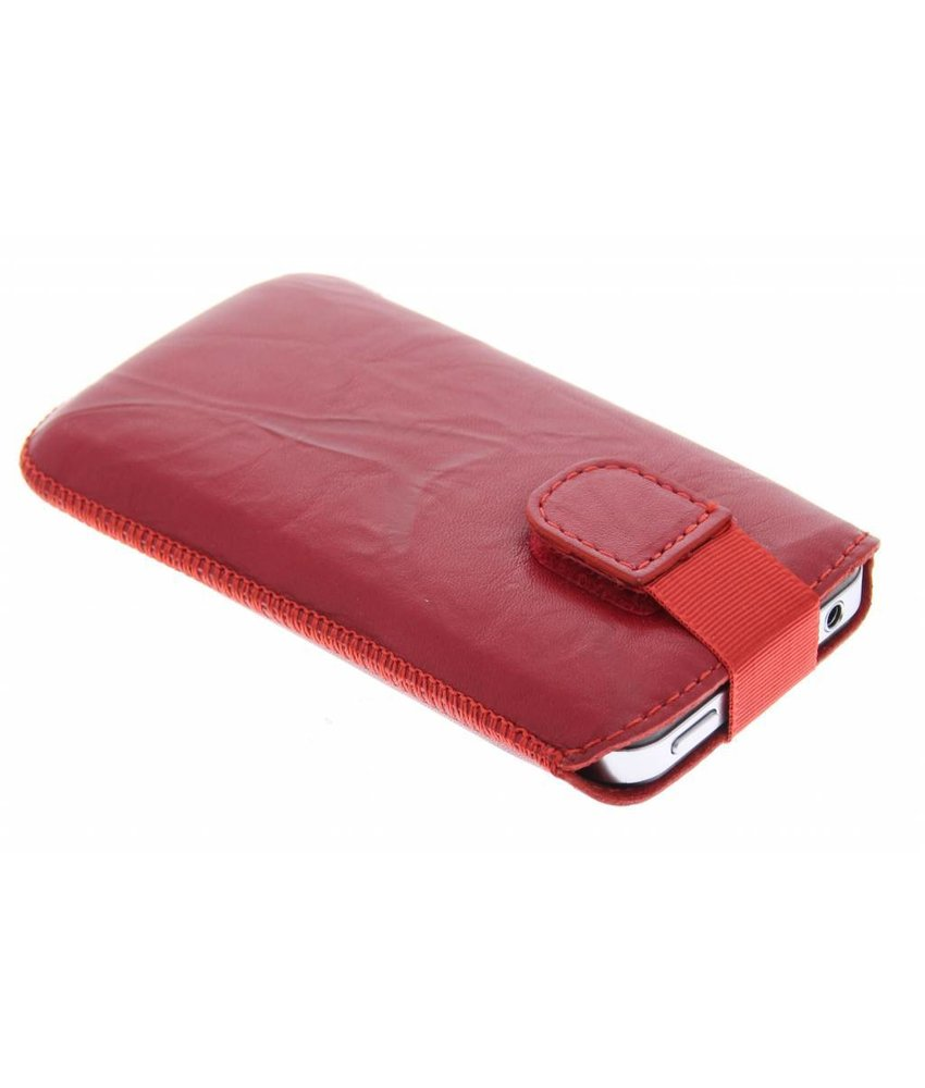 Mobiparts Uni Pouch Smoke maat L - rood