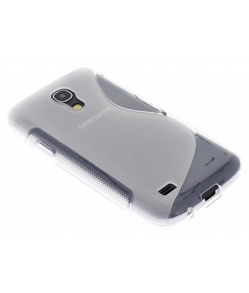 Transparant S-line TPU hoesje Samsung Galaxy S4 Mini
