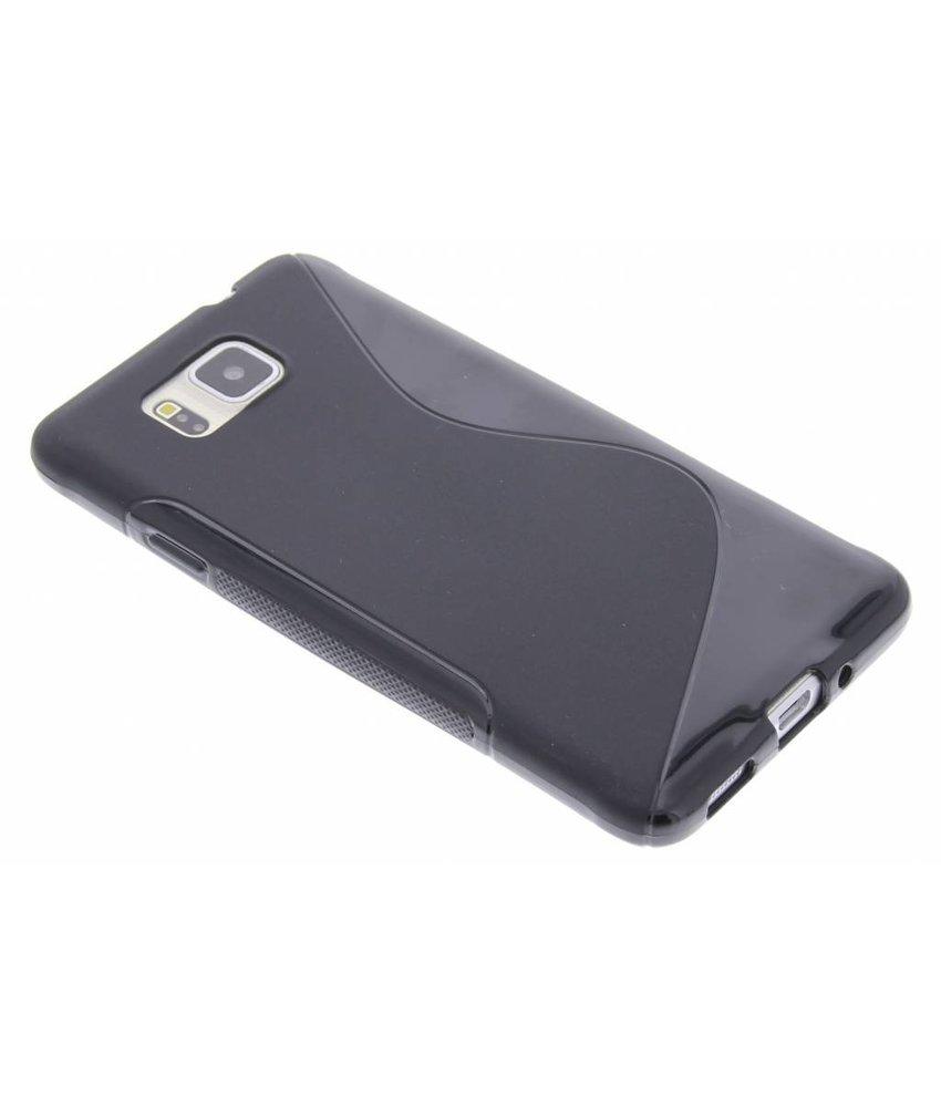 Zwart S-line TPU hoesje Samsung Galaxy Alpha