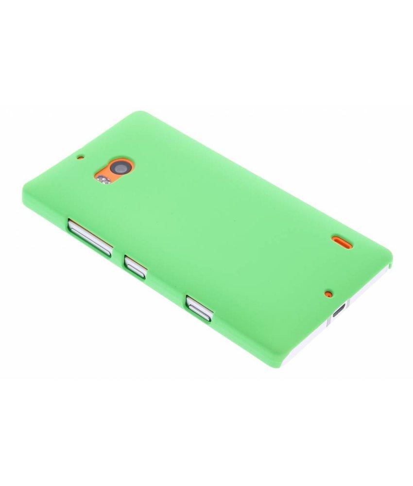 Groen effen hardcase hoesje Nokia Lumia 930