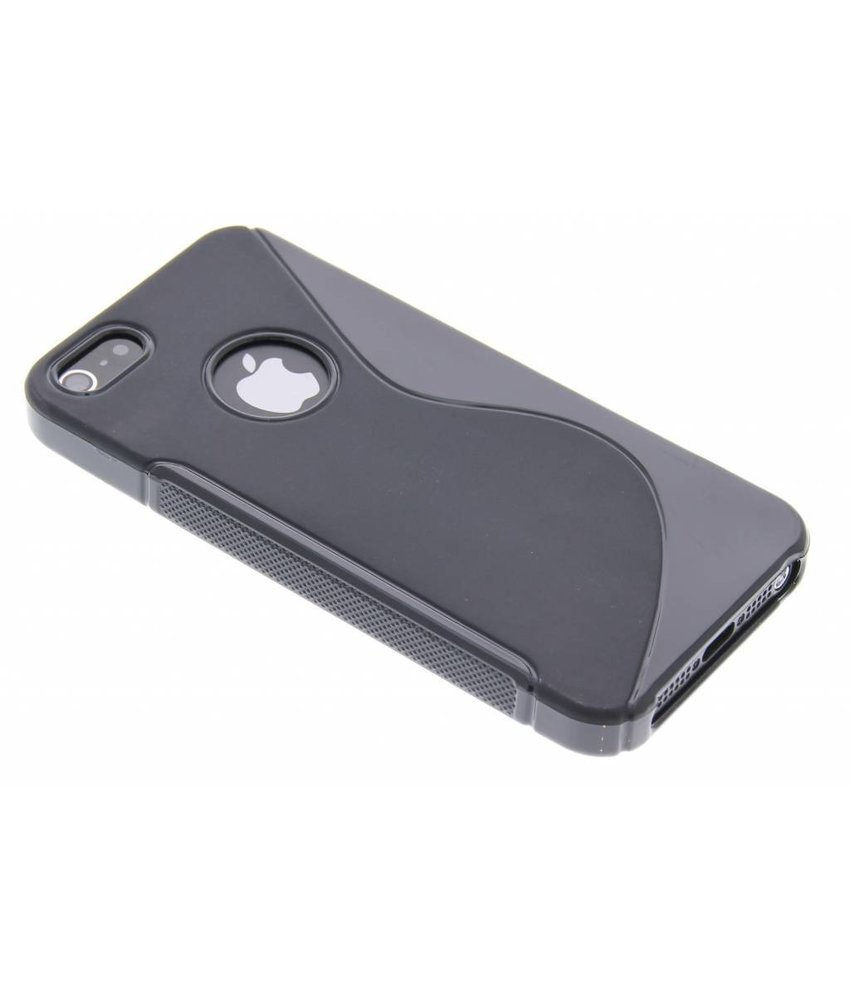 Zwart S-line TPU hoesje iPhone 5 / 5s / SE
